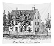 Connecticut Webb House Tapestry