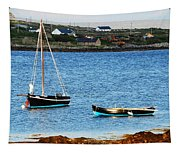 Connemara Boats Tapestry