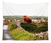 Connemara Cow Tapestry