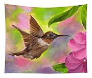 Connie's Hummingbird Tapestry