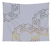 Construct Number Four Tapestry