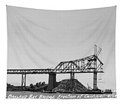 Construction Of The Eastern Span San Francisco Oakland Bay Bridge June 29 1930 Tapestry