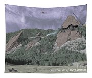 Construction Of The Flatirons - 1931 Tapestry