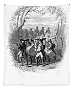 Continental Army Band Tapestry