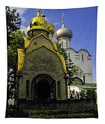 Convent - Moscow - Russia Tapestry