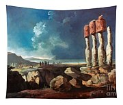 Cook: Easter Island, 1774 Tapestry