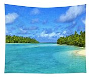 Cook Islands Lagoon Tapestry