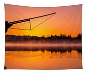 Coos Bay Sunrise II Tapestry