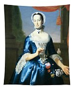Copley's Anne Fairchild Bowler -- Mrs. Metcalf Bowler Tapestry