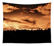 Copper Sunset Tapestry