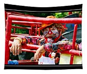 Coppertown Clown Tapestry