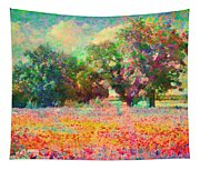 Coquelicots Tapestry