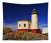 Coquille River Lighthouse Tapestry