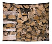 Cord Wood Tapestry