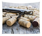 Corks With Corkscrew Tapestry