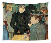 Corner Of Moulin De La Galette Tapestry