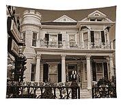 Cornstalk Fence Hotel Sepia Tapestry