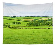 Cornwall Panorama Color Tapestry