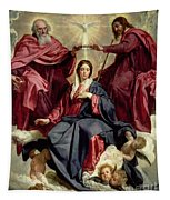 Coronation Of The Virgin Tapestry