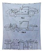 Corvette Patent Tapestry