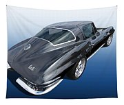 Corvette Stingray 1966 Tapestry
