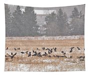 Corvus Field Tapestry