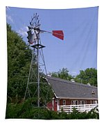 Cosley Zoo Windmill And Barn Tapestry