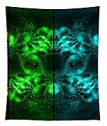 Cosmic Alien Eyes Pride Tapestry by Shawn Dall