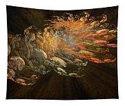 Cosmic Dust And Light Beauty Fine Fractal Art Tapestry