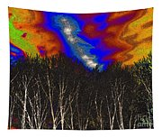 Cosmic Forces Tapestry