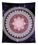 Cosmic Medallions Fire Tapestry by Shawn Dall