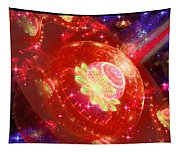 Cosmic Space Station Tapestry