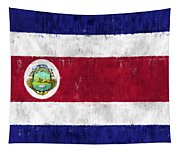 Costa Rica Flag Tapestry