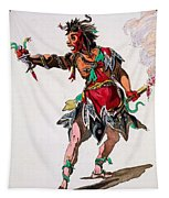 Costume Design For A Fury Tapestry