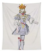 Costume Design For Geometry In A 17th Tapestry