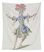 Costume Design For The Magician Tapestry