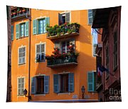 Cote D'azur Alley Tapestry