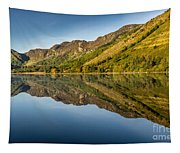 Cottage By The Lake Tapestry