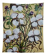 Cotton #2 - Cotton Bolls Tapestry