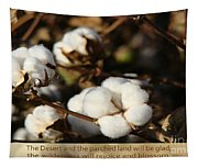 Cotton Bolls Ready For Harvest Tapestry