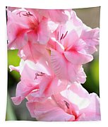 Cotton Candy Gladiolus Tapestry