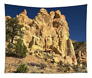 Cottonwood Yellow Towers Tapestry