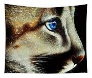Cougar Cub Tapestry