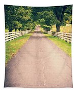 Country Back Roads Tapestry