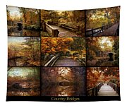 Country Bridges Tapestry