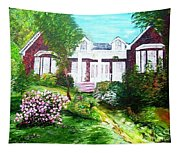 Country Estate In Spring Tapestry