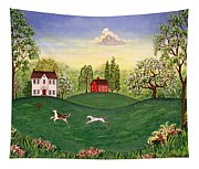 Country Frolic Two Tapestry