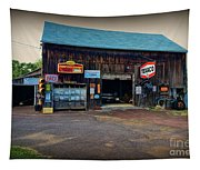 Country Garage Tapestry