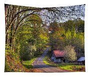 Country Lanes Tapestry