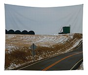 Country Roads In Holmes County Tapestry
